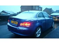 BMW Blue coupe series 2 123d immaculate condition