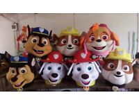 BRAND NEW Paw patrol Adult DELUXE Fancy Dress Mascot Costumes Sky Chase Marshall Rubble