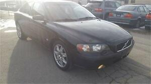 2004 Volvo S60 2.5T AWD AUTO Low KM Certified Etested SALE
