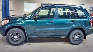 2003 TOYOTA RAV4 4Cyl 4WD AIR GROUPE ELECTRIQUE