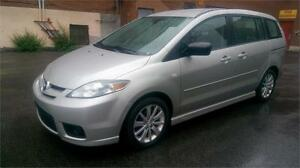 2007 MAZDA5  6 PASSAGER  115000 KM AUT + AC + MAGS.. 3950$