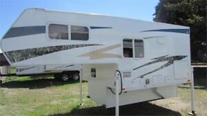 2016 WESTLAND TRAVELAIRE 80 W Truck Camper - Immaculately Clean