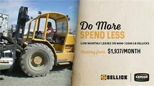 Low monthly walk-away leases on Sellick
