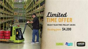 Brand New Electric Pallet Jacks
