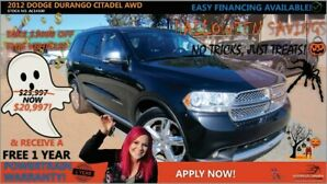 2012 Dodge Durango Citadel AWD Fully Loaded