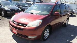 2005 Toyota Sienna LE Leather Interior