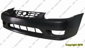 Bumper Front Primed High Quality Toyota Corolla 2001-2002