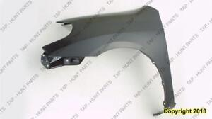 Fender Front Passenger Side Xr/Xrs Models CAPA Toyota Matrix 2003-2008