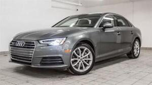 2017 AUDI A4 2.0T PROGRESSIV AWD |NAV|CAMERA|ROOF|WARRANTY|51KM
