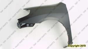 Fender Front Driver Side Xr/Xrs Models CAPA Toyota Matrix 2003-2008