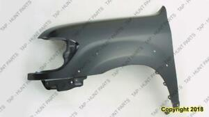 Fender Front Driver Side With Flare Hole Double Cab Toyota Tundra 2004