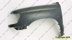 Fender Front Driver Side With Flare Hole Toyota 4Runner 1996-2002