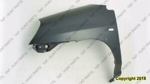 Fender Front Driver Side With Moulding Hole Suzuki Aerio 2002-2007