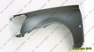 Fender Front Driver Side (With Side Lamp Hole) Steel Cadillac CTS 2003-2007