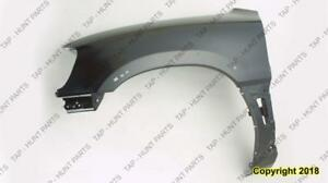 Fender Front Passenger Side With Extension Hole Toyota Rav4 1998-2000