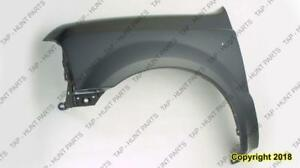 Fender Front Passenger Side Without Wheel Open Moulding CAPA Ford F250 F350 F450 F550 1999-2003