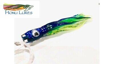 7 inch One Hole ORIG Black Back Red Eye Neutral Scoop Marlin//Tuna Lure