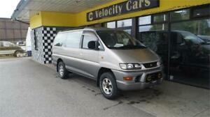 1998 Mitsubishi Delica Super Exceed 4WD LONG BASE Crystal Light