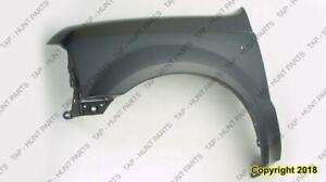 Fender Front Driver Side Without Wheel Open Moulding CAPA Ford F250 F350 F450 F550 1999-2003