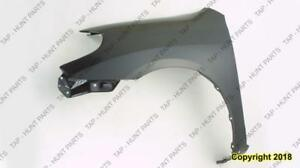 Fender Front Driver Side Xr/Xrs Models Toyota Matrix 2003-2008