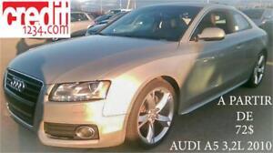 2010 Audi A5 3,2 L, À PARTIR 72$/SEMAINE 100% APPROUVÉ !