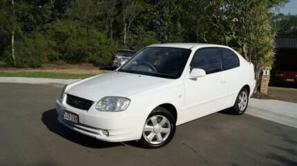 2005 Hyundai Accent Hatchback- auto, 6 moths rego