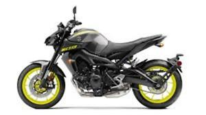 2018 YAMAHA MT-09! BRAND NEW $9500 ALL FEES IN