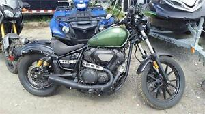 2014 YAMAHA BOLT 950 R-SPEC ! TONS OF EXTRAS