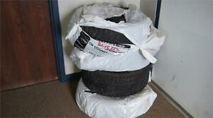 KUMHO WINTER TIRES WITH RIMS (205/55r16) only $300 used 1 winter