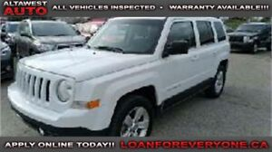 2012 Jeep Patriot Sport 4WD Sunroof and Remote Start