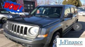 2012 Jeep Patriot North 42$/SEM 0$ COMPTANT 100% APPROUVÉ