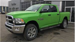 2017 RAM 3500 SLT DIESEL IN PO6 HILLS GREEN SHOW UP IN STYLE !!
