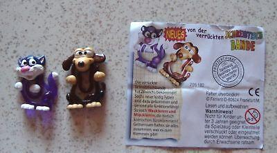 """""""Neues v. d. verrückten Schreibtb."""" 2003 Miauklemm & Wauklemm LILA-BRAUN m. BPZ"""