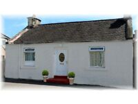 HOLIDAY LET SEASIDE COTTAGE FOR SALE GOOD SUMMER TRADE ON THE FIFE COAST SLEEPS 2