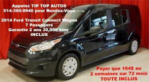 2014 TRANSIT CONNECT XLT 7 PLACES GARANTIE 2 ANS INCLUS