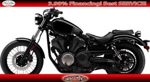 2017 Yamaha Bolt Black Street Motorcycle. Clearance + FREE