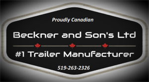 Beckner and Son's Ltd  Canadian made