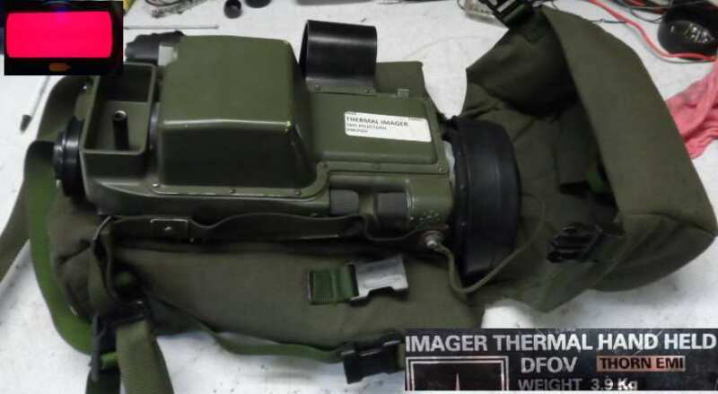 THERMAL IMAGING SIGHT, GOOD FOR PARTS AND DISPLAY   FREE SHIPPING