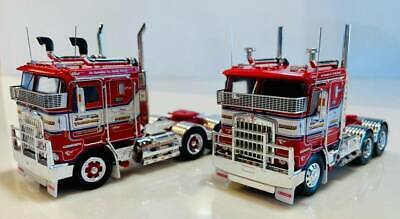 Kenworth K100G Truck Lindsay Bros Spiders Iconic Replicas 1:50 Scale Model New!