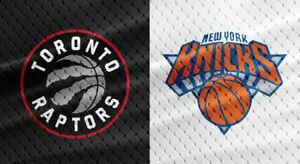 Looking for 4 Toronto Raptors vs New York Knicks Tickets