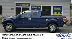 2012 Ford F-150 XLT***XTR Chrome Package***