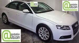 2012 Audi A4 2,0T,À PARTIR DE 52$/SEM. 100% APPROUVÉ !!!