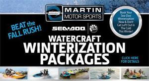 Watercraft Winterization at Martin Motor Sports