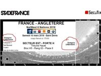 Last chance!!! Six Nations Cup France vs England tickets Stade France Paris 10.03.2018