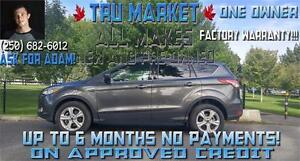 2015 FORD ESCAPE SE AWD *ONE OWNER, POWER TAILGATE*