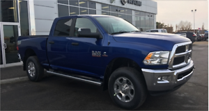 2017 RAM 3500 SLT DIESEL CREW CAB IN THE POPULAR BLUE STREAK !!