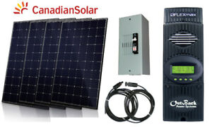1220W Solar Panel Kit MPPT Controller for Cottage Cabin Trailer