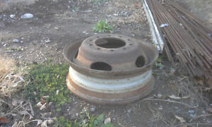 BUILD UR OWN BENCH GRINDER STAND USING THIS TRUCK RIM AS BASE