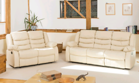 New Bonded Leather Sofas 3+2