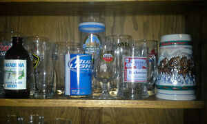 BEER and LIQUOR Glasses